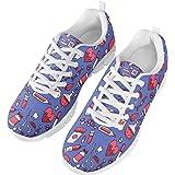 chaqlin Femmes Hommes Sneaker Lace up infirmière en Plein air Chaussures Baskets de Loisir léger Formateur Confortable Plus l