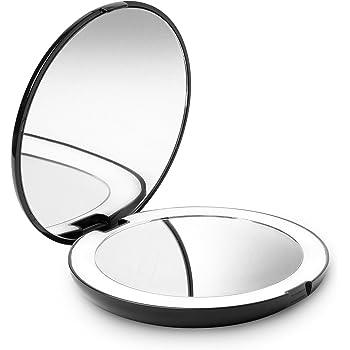 Kosmetikspiegel Mini Taschenspiegel Kosmetische Kompakte Metall Spiegel Dis 7 Cm Zufällige Farbe Haut Pflege Werkzeuge