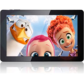 """10.6"""" Fusion5 108 FHD Octa Core Android Tablet PC - 2GB RAM - 16GB Storage - Now in Android 6.0 Marshmallow - Bluetooth 4.0 - 1920*1080 FHD IPS Screen - 7200mAh battery - 2MP front and 5MP rear camera, AutoFocus - Supports OTA Updates (Full HD)"""