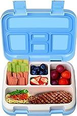 KidsHobby Kinder Lunchbox Auslaufsicher Lunch-Boxen Bento Box Brotdose mit 5 Unterteilungen