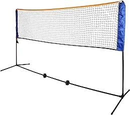 Oypla Medium 4M Adjustable Foldable Badminton Tennis Volleyball Net