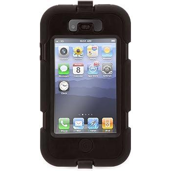 Griffin Custodia Survivor per iPhone 4 e 4S, Nero