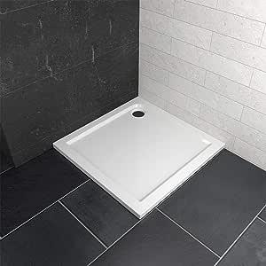 Ablaufgarnitur Duschtasse Duschwanne Acrylwanne 100x100cm Quadratisch inkl