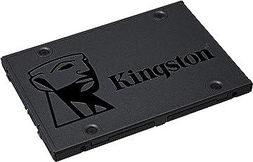 Kingston SA400S37/120G Solid-State-Drive (2.5 Zoll, SATA 3) schwarz