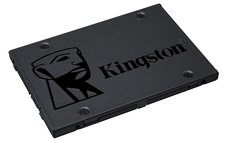 Kingston A400 SSD SA400S37/120G  –  Disco duro sólido interno 2.5″  SATA 120GB