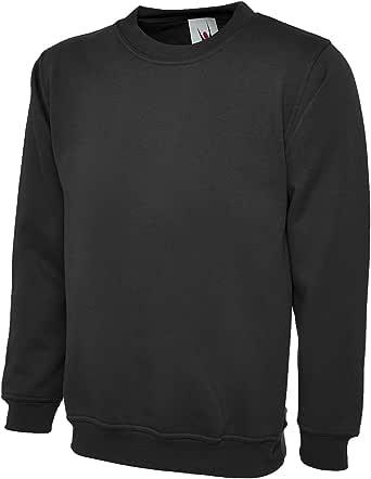 UC205 - Black - 4XL - 260GSM Olympic Sweatshirt