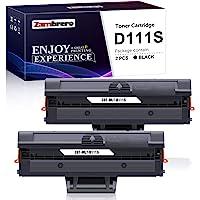 Zambrero Compatible MLT-D111S Cartouche de Toner pour Samsung Xpress M2070W M2070 M2070FW M2020W M2078W M2022W M2022…