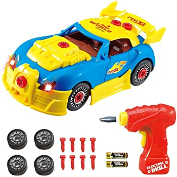 Think Gizmos Take Apart Toy Racing Car - Construction Toy Kit For Kids - Build Your Own Car Kit Version 3