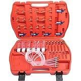 KKmoon Kit de Probador de Inyectores Diesel, Herramientas de Prueba de Flujo de Aceite Boquilla Automática Inyector de Combus