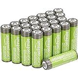 Amazon Basics AA oplaadbare batterijen met hoge capaciteit 2400 mAh (24-pack) voorgeladen