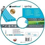 Cellfast Bewässerungsschlauch SPRING Dreikanalbewässerungsschlauch mit kompletten Verbindungsstücken aus Garn höchster Qualität, UV-Strahlenbeständig, 15m, 1/2 zoll, 19-022