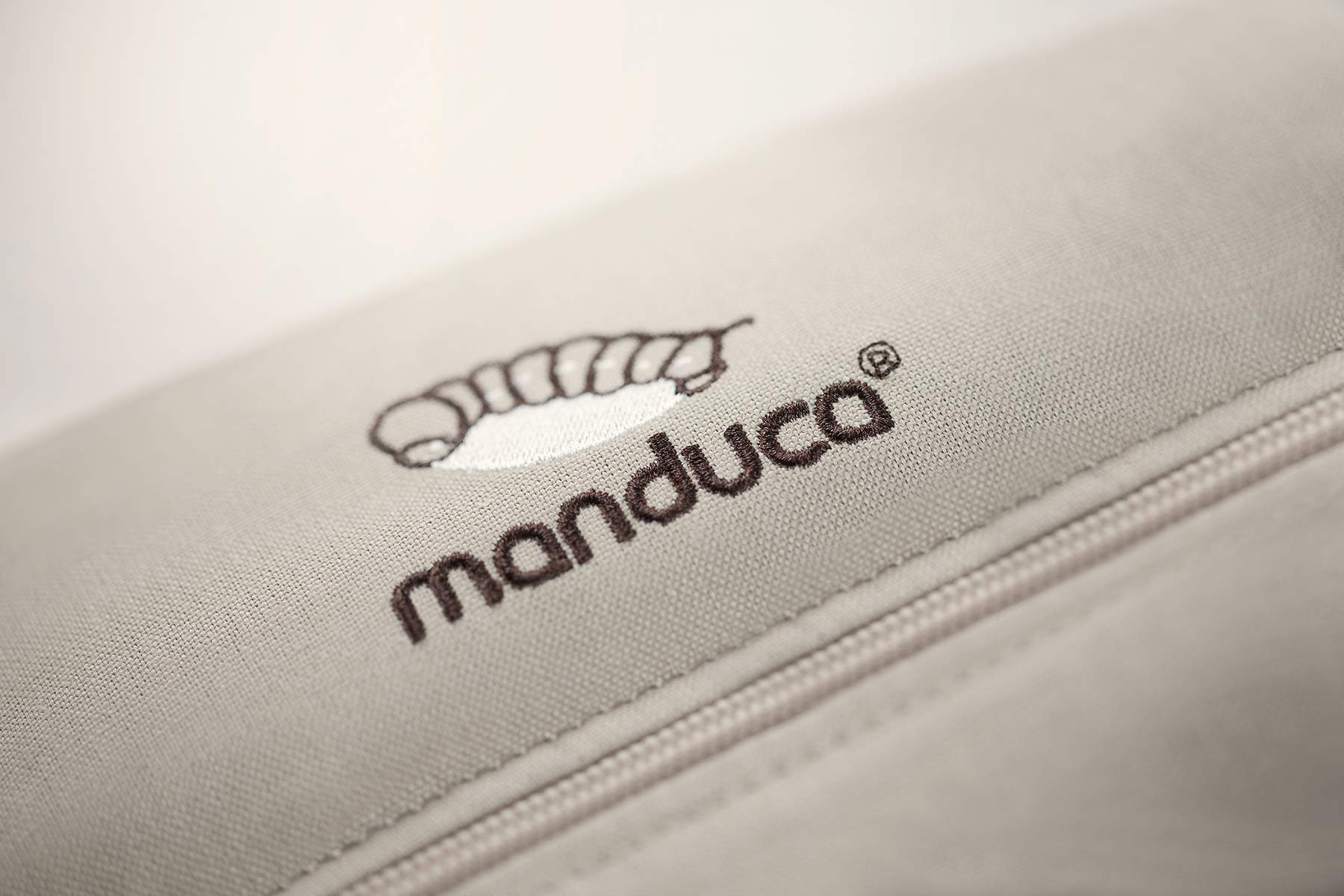 manduca First Baby Carrier > HempCotton Sand < Ergonomic Baby Carrier, Soft & Sturdy Canvas (Organic Cotton & Hemp), Front Carry, Hip Seat and Back Carry, from Newborn to Toddlers up to 20kg, Beige Manduca New features: Improved three-point-buckle (secure & easy to open); extra soft canvas made of 45% hemp and 55% organic cotton (outside), 100% organic cotton lining (inside) Already integrated in every baby carrier: infant pouch (newborn insert), stowable headrest & sun protection for your baby, patented back extension (grows with your child); Optional accessories for newborns: Size-It (seat reducer) and Zip-In Ellipse Ergonomic design for men & women: Soft padded shoulder straps (multiple adjustable) & anatomically shaped stable hipbelt (fits hips from 64cm to 140cm) ensure balanced weight distribution. No waist-belt extension needed 4