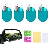 4 PCS Car Rearview Mirror Protective Film, HD Clear Waterproof Film Wing Mirror Rain Films Anti Fog Accessories Blind…