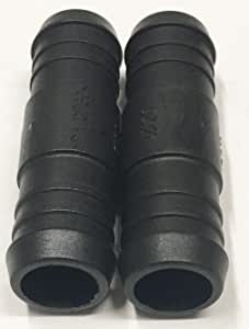 Air Hose Repair 2 x 6mm Water Hose Pipe Y Piece Connector Joiner Heater Matrix