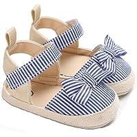 Geagodelia Sandali per Bambina Scarpine Estive Neonata con Fiocco Pantofole Antiscivolo con Suola Morbida Scarpe…