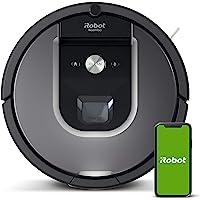 iRobot Roomba 960 Saugroboter mit starker Saugkraft, 2 Multibodenbürsten, Navigation für mehrere Räume, lädt sich auf…