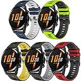 TOPsic Armband för Huawei Watch GT 2/Huawei Watch GT Fashion/Sport/Active/Elegant/Classic/Galaxy Watch 46 mm/Gear S3, 22 mm k