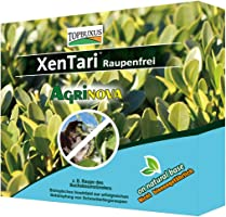 TOPBUXUS XenTari 15x1g for 150m2, stops and prevents caterpillar damage in Boxwood, prof. dosage. Bio product, do what...