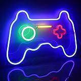 Ineonlife Spiel Leuchtreklame Gaming Neon Schild Übergröße Spielförmige Leuchtreklamen Neonlicht für Wand Kinder Zimmer Spiel