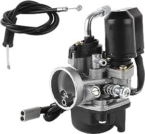 Wilktop 17 5mm Vergaser Ersatzvergaser Mit 17 5mm Durchlass Für Die Meisten 50ccm Roller Auto