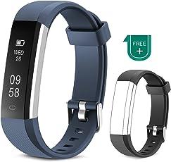 Fitness Tracker Muzili Impermeabile Sport orologio Touchscreen Activity Tracker Fitness Braccialetto Pedometro con Contatore Passi e Calorie, Notifiche push e chiamate, Monitoraggio sonno per donne bambini e uomini