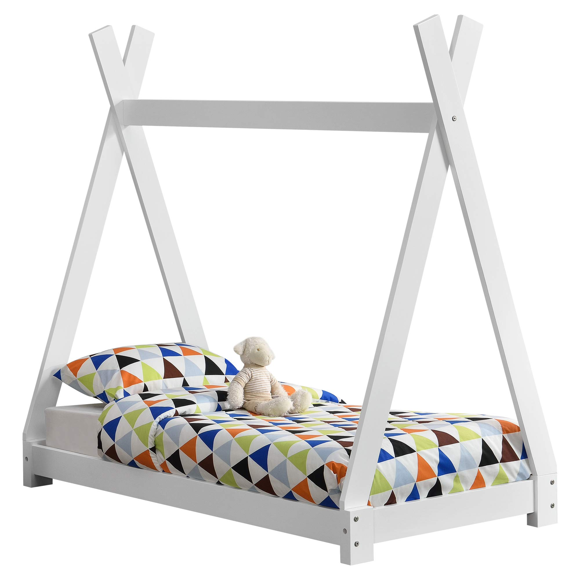 Letto Bambini.En Casa Letto Per Bambini Design Teepee Indiano Lettino A Tenda Legno Di Pino Giochi Legno