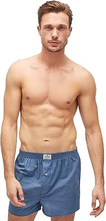 Tom Tailor Men's Striped Underwear Set Blue Blau-Mittel-Ringel