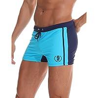 Arcweg Maillot de Bain Homme Boxer S-XL Doublure avec Cordon de Serrage Réglable Confortable