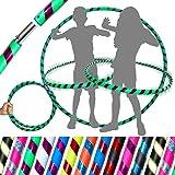 HULA HOOPS - Kwaliteit gewogen Hula hoepels voor kinderen! Geweldig voor Oefening, Dans, Fitness & FUN! Geen instructies nodi