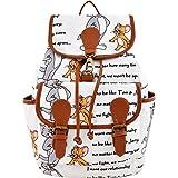 Sakwoods Canvas Printed Womens Backpack