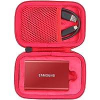 co2CREA Hart Tasche für Samsung T7 Touch / T7 Portable SSD 500GB 1TB 2TB case Etui Schutzhülle (Nur Tasche)