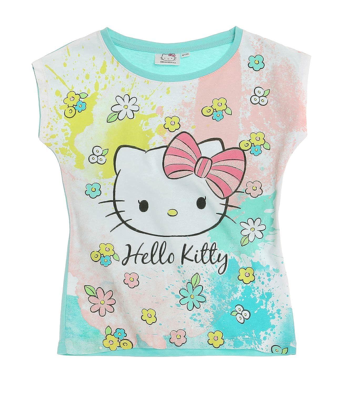 Rosa Hello Kitty M/ädchen Langarmshirt 2016 Kollektion