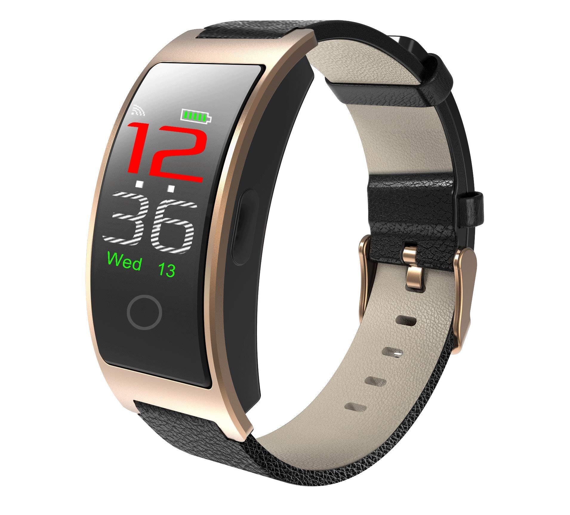 SPORS Fitness Tracker cinturón Impermeable Ritmo cardíaco presión Arterial sueño Monitor podómetro Reloj Inteligente… 1