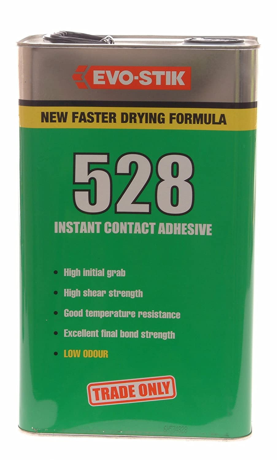 evo stik contact adhesive litre amazon co uk diy evo stik 528 contact adhesive 5 litre 805910 amazon co uk diy tools