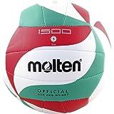 molten Volleyball V5m1500 Weiß/Grün/Rot 5
