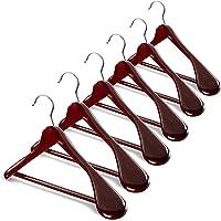 Ginoya Brothers Cherry Wooden Coat Hanger,Blazer Hanger (2)