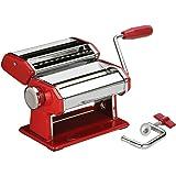 Coffret machine à pâtes fraîches Rouge et Chromé
