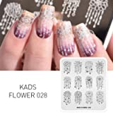 KADS Nail Stamping Plate Flower Nature Nail Art Stamp Template DIY Image Template Manicure Stamping Plate Stencil Tools…