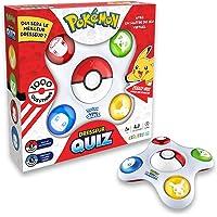 Bandai- Pokémon-Dresseur Quiz Jeu électronique interactif-Parle français, ZZ20110