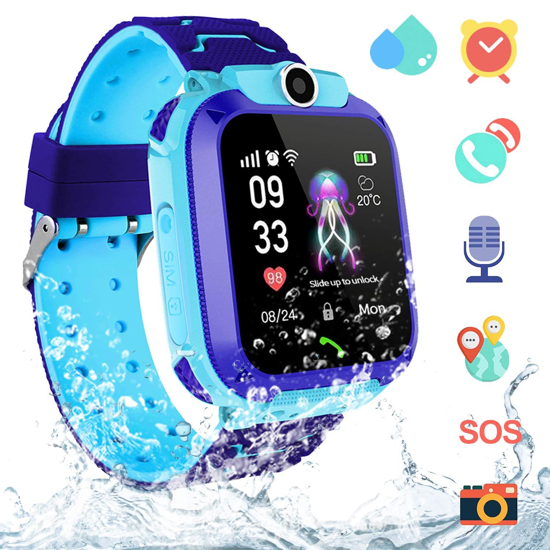 Reloj Inteligente Niña IP67 Impermeable - Smartwatch Niños Rastreador de AGPS LBS, Reloj Niña con Llamada Telefónica SOS… 1
