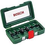Bosch DIY 6-delig Freesset HM (Ø 6 mm)