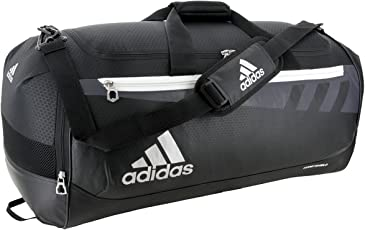 adidas Team Issue Duffel Bag, Black, Small