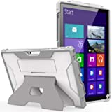 MoKo Case Fit Microsoft Surface Pro 7 Plus/7/6/5/4/LTE, [Heavy Duty] Shockproof Full-Body Rugged Hybrid Tablet Case with Hand