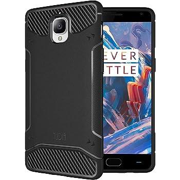 TUDIA TAMM Bumper Shock Absorption Case for OnePlus 3T / OnePlus 3 (Black) [TD-TPU3732]