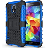 ykooe Galaxy S5 Hülle,S5 Hülle (TPU Series) Dual Layer Hybrid Handyhülle Drop Resistance Handys Schutz Hülle mit Ständer…
