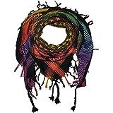 Superfreak Palituch - Palituch mit Sterne-Muster klein - 10+ Farben - Pali Palästinenser Arafat Tuch - 100% Baumwolle