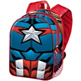 KARACTERMANIA Capitán América Civil War-Mochila Basic, Negro