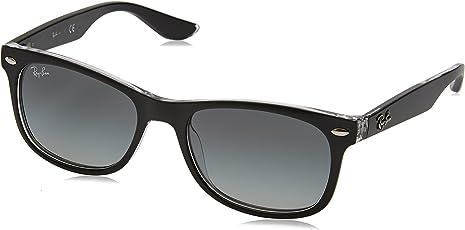 Ray-Ban Gradient Square Unisex Sunglasses - (0RJ9052S70221148|48|Gradient Grey Color)