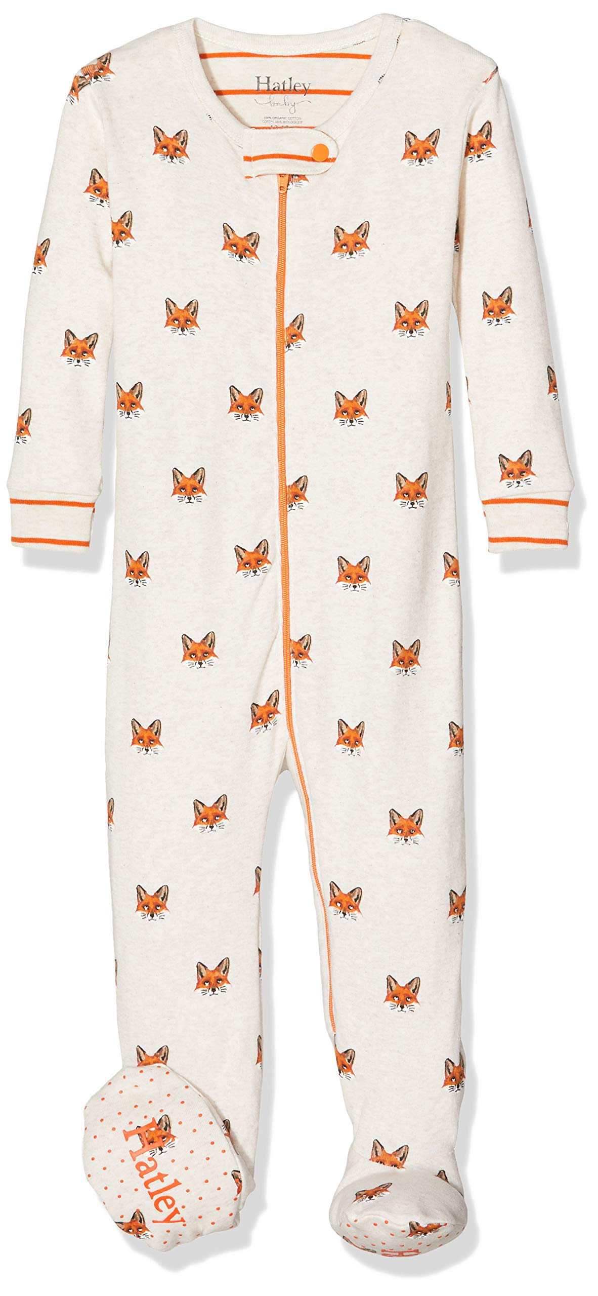 Hatley Organic Cotton Footed Sleepsuit Pelele para Dormir para Bebés 3
