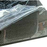 Effetto Lucido 200 * 250 * 2mm Piastra in Fibra di Carbonio Creative-Idea Accessori per Strumenti 0,5 mm//1 mm//1,5 mm//2 mm
